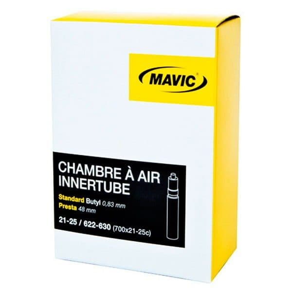 Chambre a air velo route mavic inertube butyl 700x21 25 for Chambre a air velo route