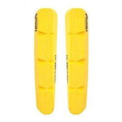 Lot de 2 patins de frein Swissstop Yellow King pour jante carbone Mavic CXR