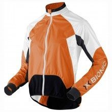 Veste de pluie X-Bionic Spherewind Biking Orange