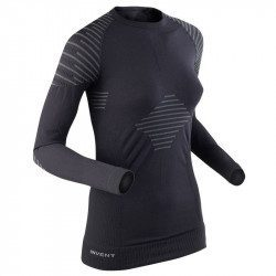 Sous maillot vélo manches longues femme X-Bionic Invent Shirt Long Sleeves