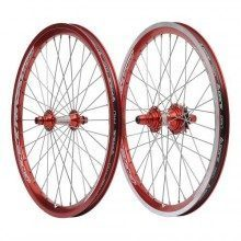 Roues BMX 20 pouces Pride Racing Rival Pro Red