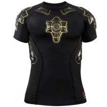 T-shirt de protection G-Form Pro-X Noir-Jaune