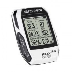 Compteur vélo GPS Sigma ROX 11.0 White Basic