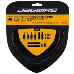 Kit cables y fundas de freno BTT Jagwire Mountain Pro