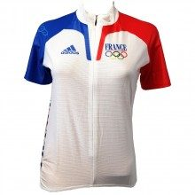 Maillot manches courtes Femme Adidas JO