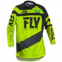 Maillot VTT manches longues Fly Racing F-16 Yellow 2018