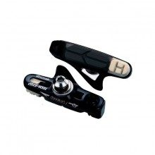 4 porte-patins noirs + patins 3 gommes BBB BBS22CT Techstop Campagnolo
